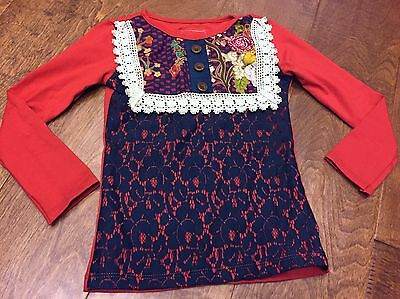Persnickety Lou Lou Top Sz 6 NWT