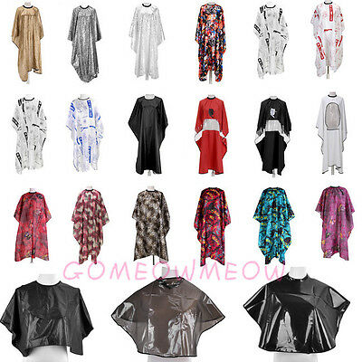 New Salon Hair Cut Hairdressing Cape Cover Barbers Hairdressers Gown Adult Cloth