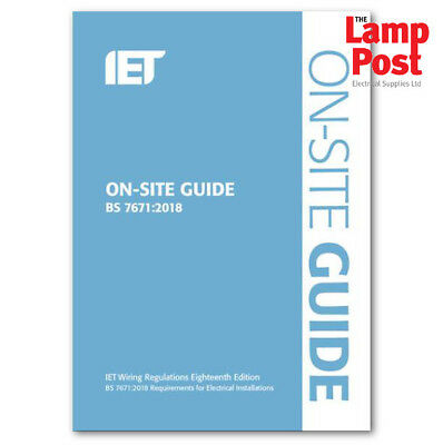17th Edition On Site Guide - Wiring Regs Requirements Electrical Installation