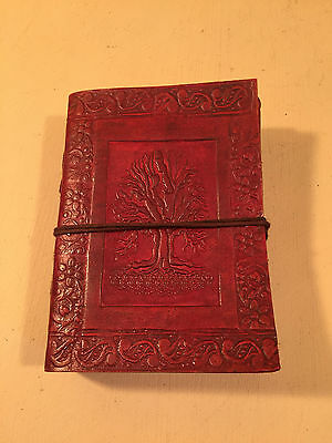 Camel Leather Embossed Indian Diary Sketchbook Journal Notebook Hippy Boho