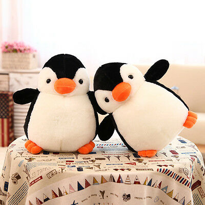 3 Sizes Cute Big Penguin Plush Toy Stuffed Soft Animal Doll Pillow Cushion Gifts
