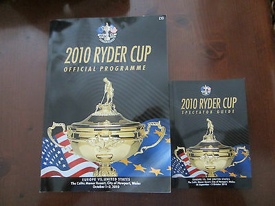 Ryder Cup 2010 Celtic Manor Official Programme & Spectator Guide - New