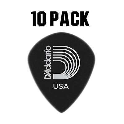 D'Addario Planet Waves Duralin Black Ice Plectrum Pack - 10 Pack - Heavy 1.1mm