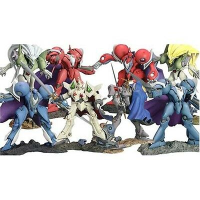 The Vision of Escaflowne figure set of 8 Kotobukiya official anime Authentic