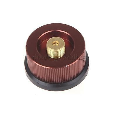 Aluminum Split Type Camping Stove KFZ off  Tank Adapter Conversion Connector✧✧