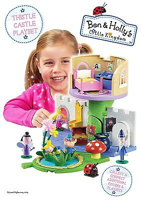 Ben and Holly's Little Kingdom Thistle Castle Playset with Holly Figure Toy NEW