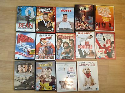 Bundle of 16 comedy/family DVD, Johnny English, bean, pearl harbour Forrest Gump