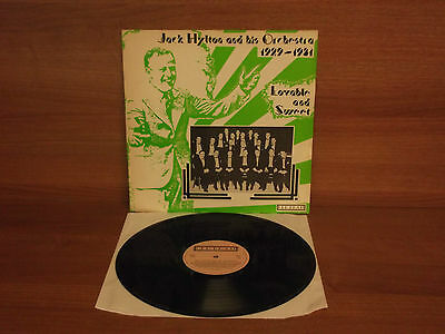 Jack Hylton & His Orchestra : 1929-1931 - Lovable and Sweet : Vinyl Album  OLD 1