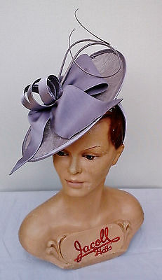 Ladies Whiteley/Maddox Headpiece in Dusk Wedding/Races/Mother of the Bride.