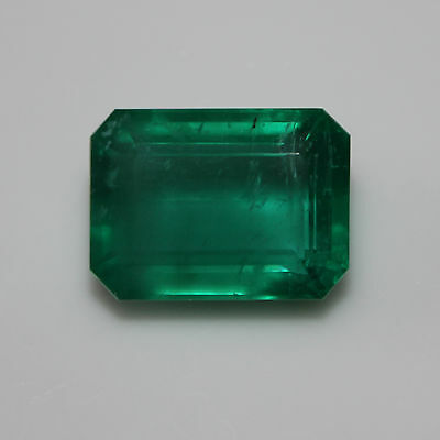 11.24 cts Zambian Emerald -  Exquisite Green, Superb Luminosity - GIA certified