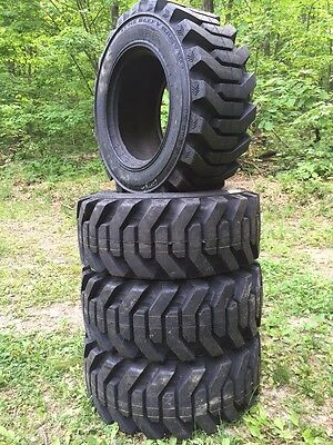 4 NEW Galaxy Beefy Baby III 12-16.5 Skid Steer Tires 12X16.5 HEAVY DUTY-series 3