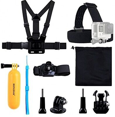 Camera Accessories Kit Head Chest Mount Floating Monopod For GoPro Hero 5/4/3/2