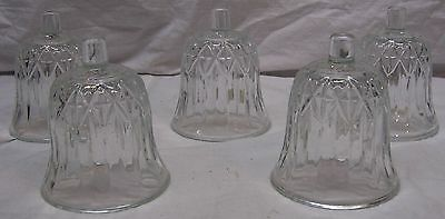 Home Interiors / Homco Votive Cups - 5 Clear Valencia Cups