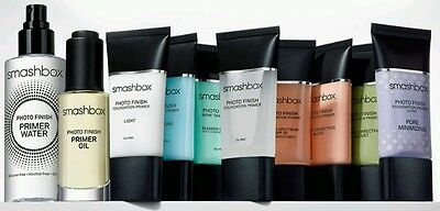 SMASHBOX Photo Finish Foundation PRIMER SAMPLES 3ml/5ml All Varieties Available