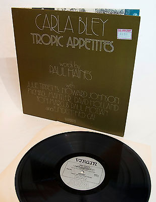 CARLA BLEY - TROPIC APPETITES 1974 ALBUM featuring Julie Tippetts (Driscoll)
