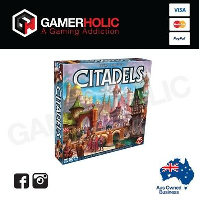 Citadels 2016 Deluxe Edition - Card Game - Brand New
