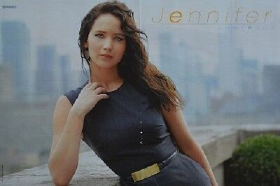 JENNIFER LAWRENCE - A3 Poster (ca. 42 x 28 cm) - Clippings Fan Sammlung NEU