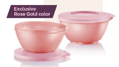 New Tupperware Expression Bowl 4pc Set 550ml each Free Shipping