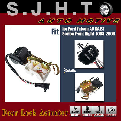 New Door Lock Actuator Front Right for Ford Falcon AU BA BF 1998-2006 BAFF21812A