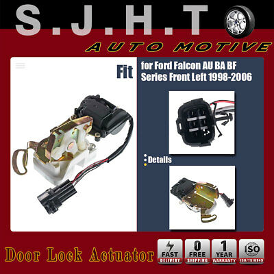 New Door Lock Actuator Front Left For Ford Falcon AU BA BF 1998-2006 BAFF21813A