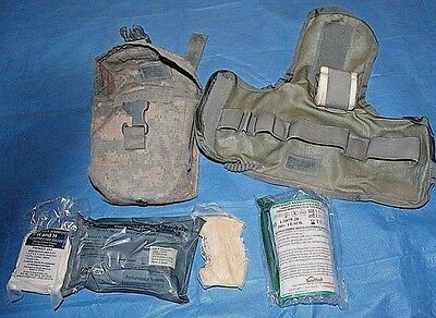 USGI Military Improved First Aid Kit (IFAK) With Pouch and Insert
