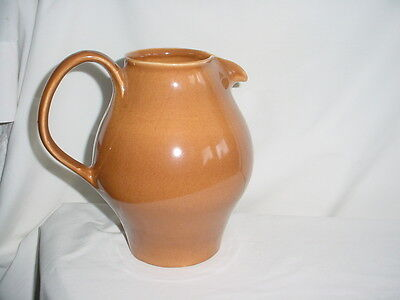 Russel Wright Ripe APRICOT Redesigned Casual Iroquois Water Pitcher OLD MARK