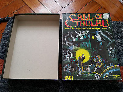 Call of Cthulhu. 2nd Edition Games Workshop Edition - Box only