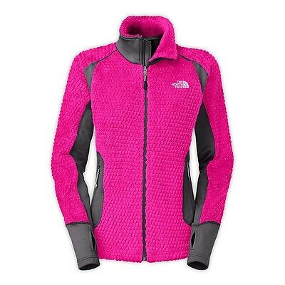 $140 THE NORTH FACE Womens Polartec Grizzly Pack Jacket Coat XS S  New ski Pink