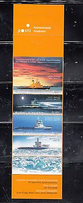 FINLAND 2005 ARCTIC ICEBREACKERS booklet 4 stamps MNH