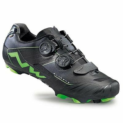 Northwave, Extreme XCM, MTB shoes, Green Fluo/Black, 46