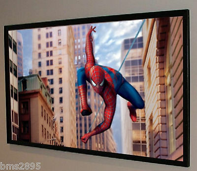 """120"""" High Contrast Gray Grey RAW / BARE Projector Projection Screen Material USA"""