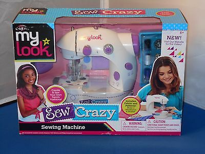 Cra-Z-Art My Look Sew Crazy Sewing Machine New Mint In Sealed Box!