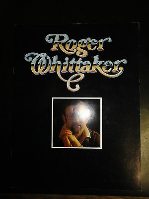 Roger Whittaker Canadian Tour 1978 Souvenir Booklet 16 pages, Slightly Used