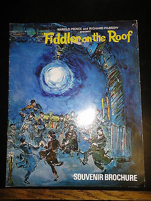 Fiddler on the Roof Programme London England 1971