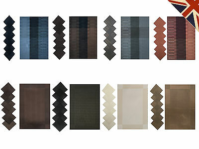 Luxury Woven Dinner Table Mat Placemats And Coasters Set 6 Pieces Kitchen