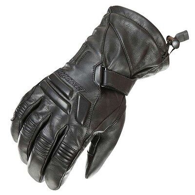 Joe Rocket Windchill Cold Weather Motorcycle Leather Snowmobile Winter Gloves