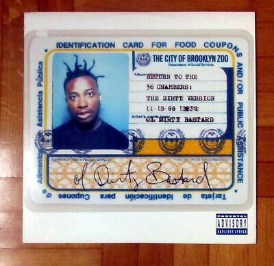 """Old Dirty Bastard """"return To The 36 Chambers: The Dirty Version""""-Vinile 2Lp-1995"""