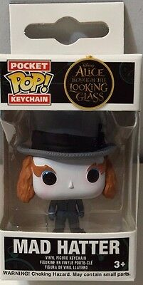 FUNKO Pocket Pop! Keychain MAD HATTER ALICE THROUGH LOOKING GLASS 2.5 in Figure