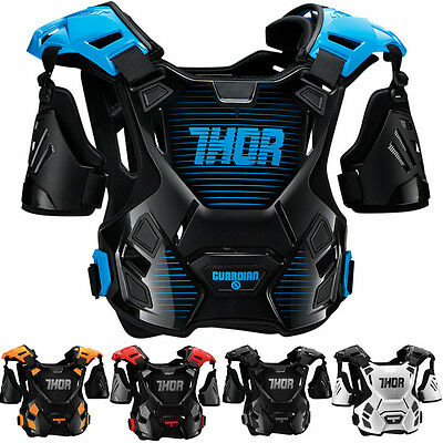 Thor MX Guardian Mens Motocross Off Road Lightweight Dirt Bike Chest Protecto