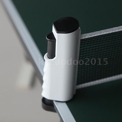Retractable Telescopic Table Tennis Net Rack Replacement Ping Pong Kit F4K0