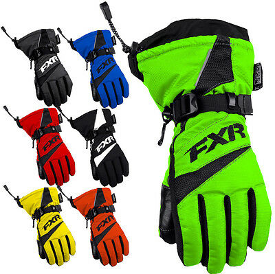 FXR Racing Helix Race Youth Snowboard Skiing Snowmobile Gloves