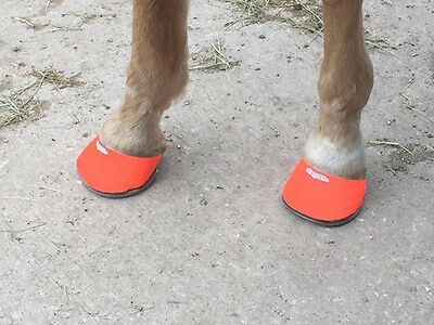 Hoofies for your Horse-Orange-M
