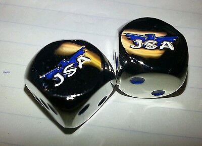 Justice Society of America Custom Engraved Metal Dice Rare Chase JSA