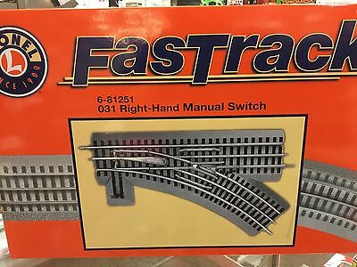 Fast Track O-31 Right-Hand Manual Switch 6-81251