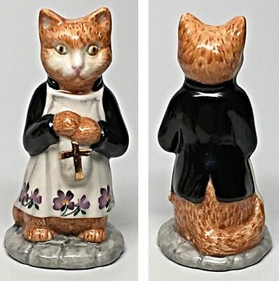 "Black Coat - Beswick Beatrix Potter Figurine ""Ginger"""
