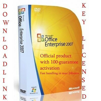 Microsoft Office 2007 FULL VERSION PRODUCT KEY & DOWNLOAD LINK FOR 3 USERS/PCS