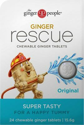 Ginger Rescue Original Tablets x24 - The Ginger People