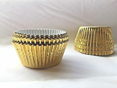 Gold Foil baking Cupcake liners Approx:45