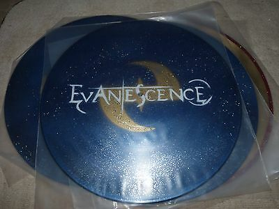 Rock And Roll Handmade Display Record Evanescence Gold Record Art