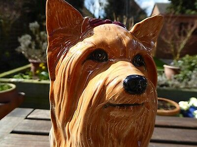 Beswick Large Yorkshire Terrier - Fireside Dog Model No.2377 - Mint Condition